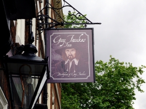 Guy Fawkes fødested - nå en pub