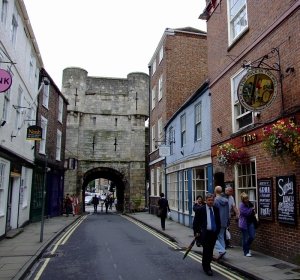Eksempel på åpning i bymuren