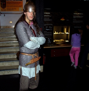 Sur og sint vikingmann i Jorvik