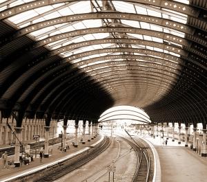 Jernbanestasjonen i York