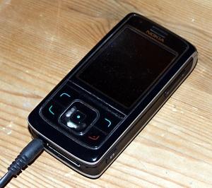 Svart mobiltlf