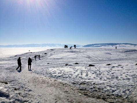 Koigen - Hamar. På fine vinterdager er det rene folkevandringen på og ved Mjøsa.