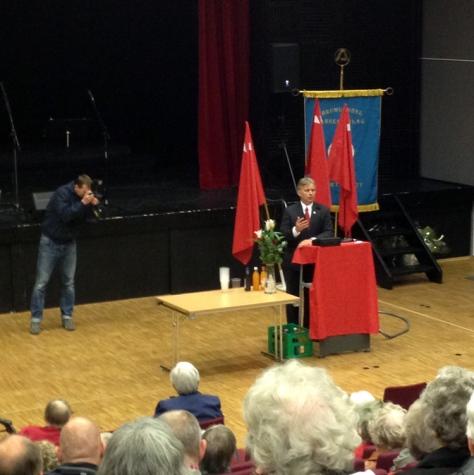 Knut Storberget talte på 1. mai.