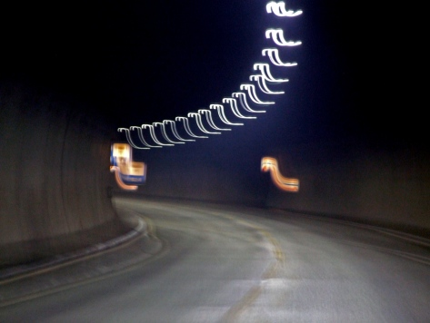 Eksempel på tunnel (ikke undervanns-), men er det lys i enden av den..?